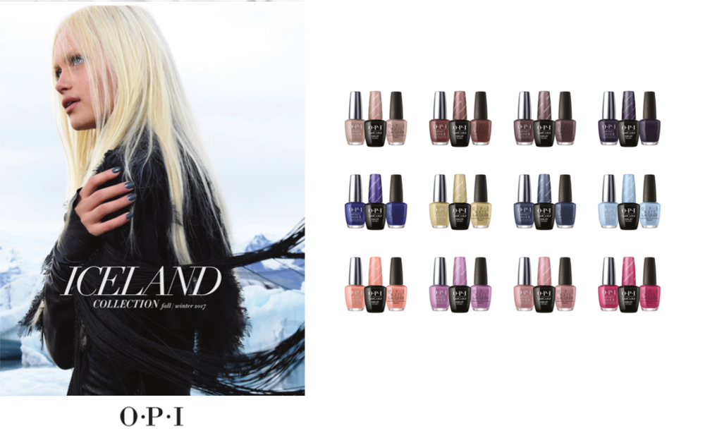 Iceland Fall-Winter 2017 Collection by OPI