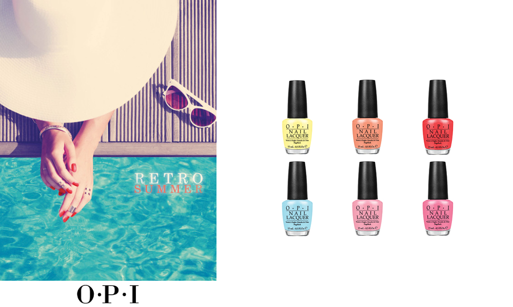 Retro Summer 2016 Collection by OPI