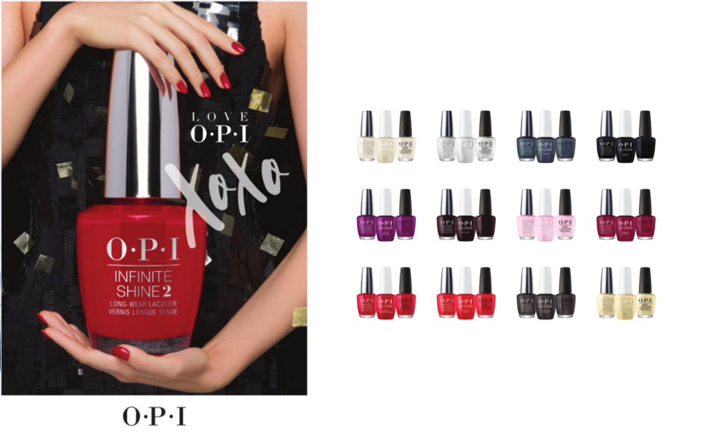 Love OPI, XOXO Christmas 2017k