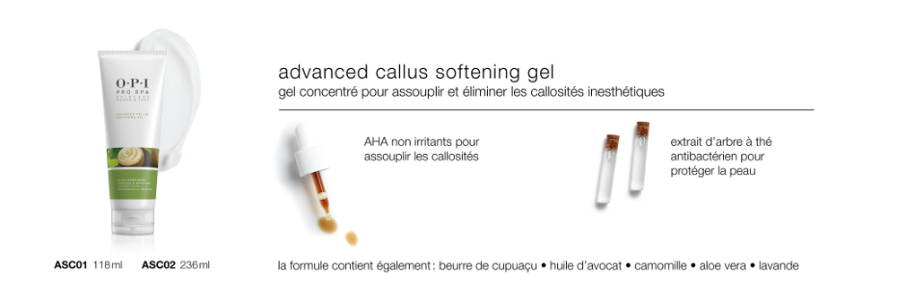 Callus Softening Gel